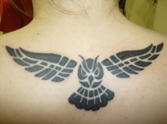 Have A Tribal Owl Tattoo!