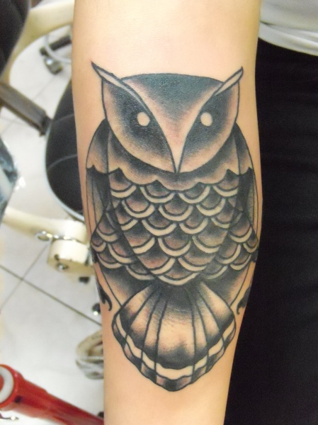 Have An Owl Tattoo!