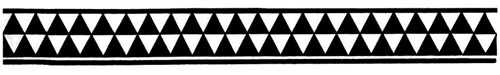 Hawaiian Triangles Armband Tattoo Design