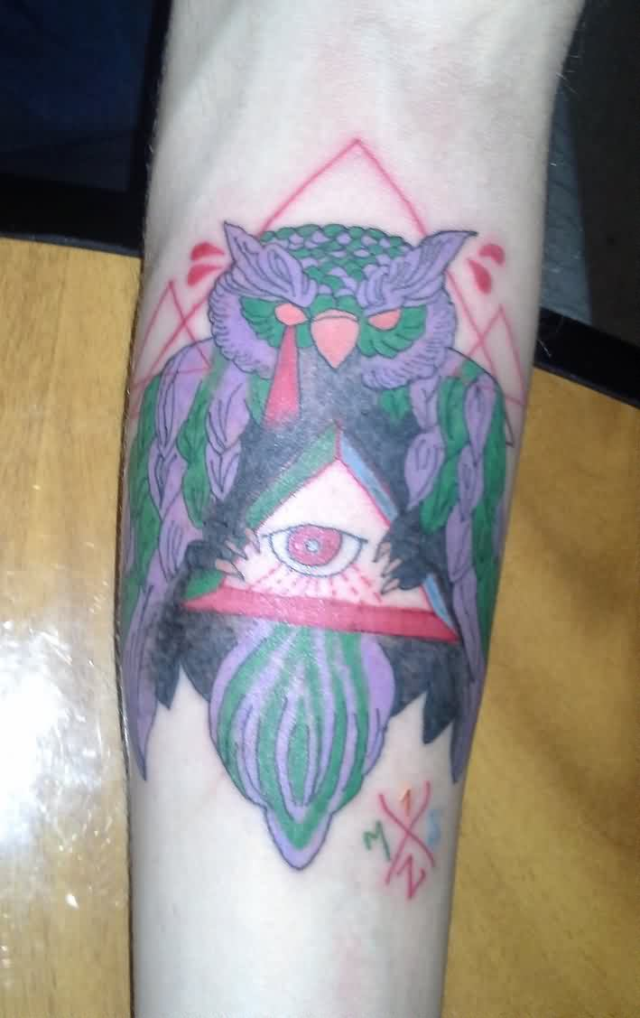 Illuminati Owl Tattoo