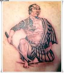 Japanese Samurai Warrior Tattoo
