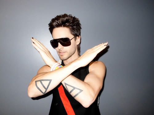 Jared's Triangle Tattoos On Arm