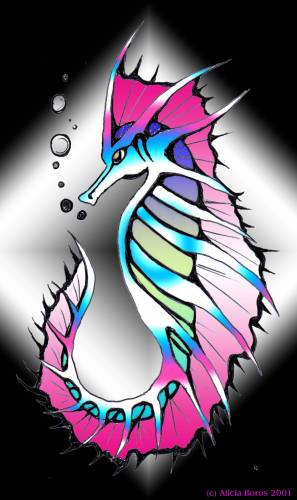 Latest Seahorse Tattoo Wallpaper