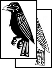 Latest Style Crow Tattoo Design
