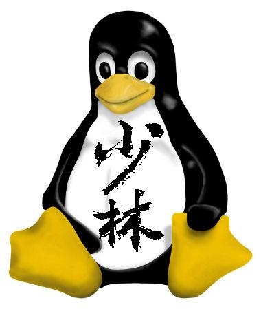 Linux Penguin Tattoo Model