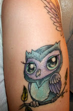 Little Baby Owl Tattoo