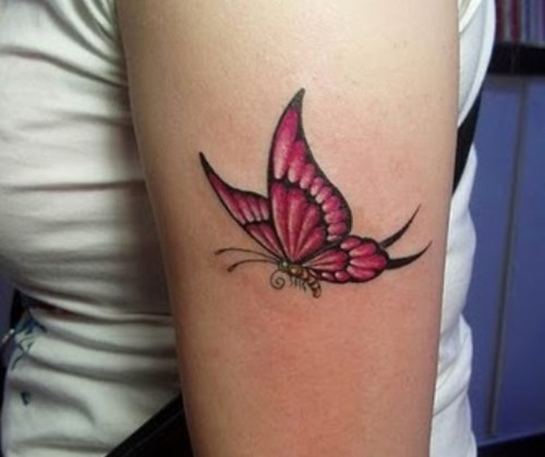 Lovely 3D Tattoo Specially For Girls