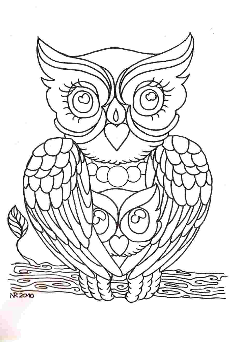 Mama Owl Tattoo Design