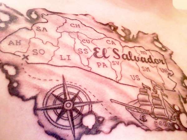 Map Compass Tattoos