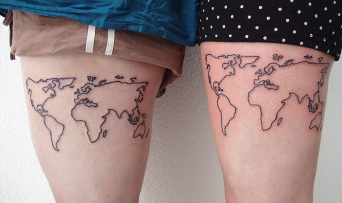 Map Matching Tattoos
