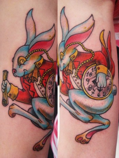 Matrix Rabbit Tattoos