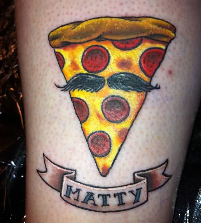 Matty - Pizza Tattoo