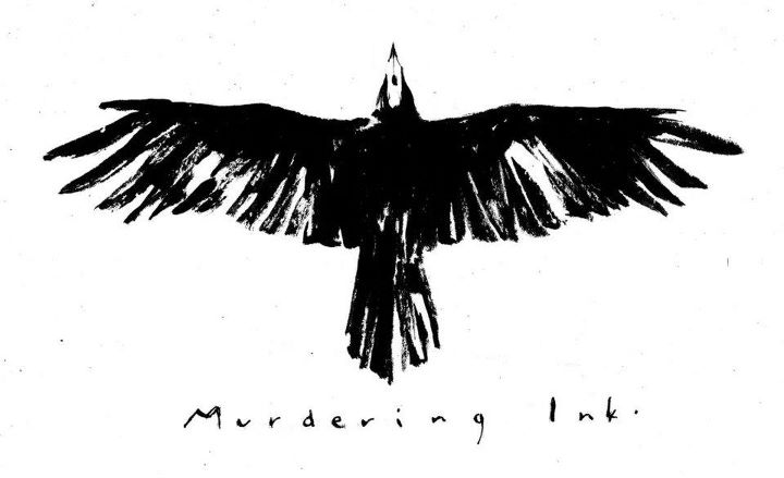 Murdering Ink Crow Tattoo Design