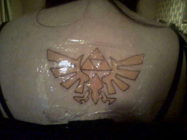 My Triforce Triangle Tattoo
