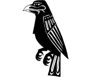 New Crow Tattoo Model