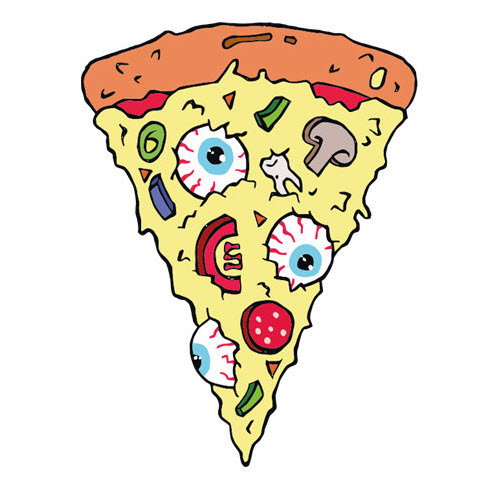 New Pizza Slice Tattoo Design