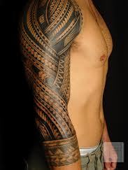 New Polynesian Tattoos On Sleeve