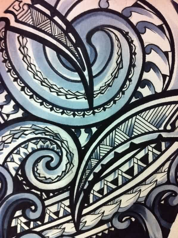 New Release Polynesian Tattoo Print