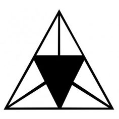 New Release Triangle Tattoo Design