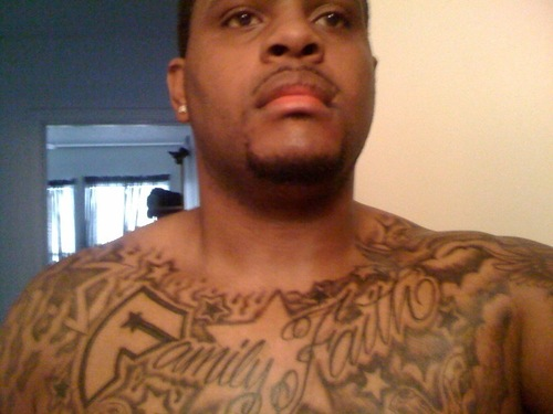 Nice Collarbone And Chest Tattoos For Men
