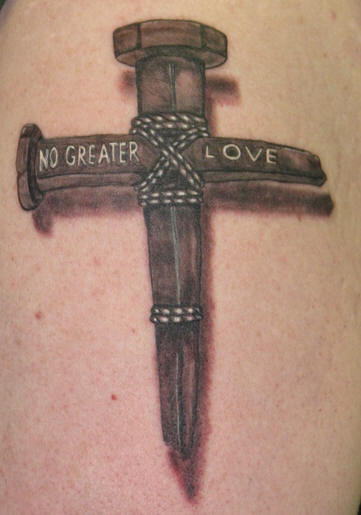 No Greater Love - 3D Tattoo