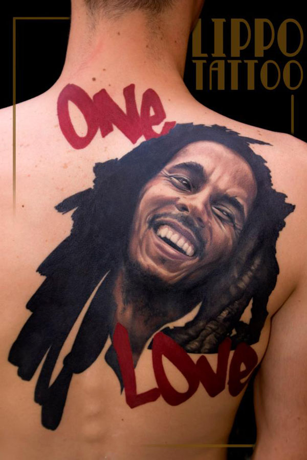 One Love - 3D Tattoo