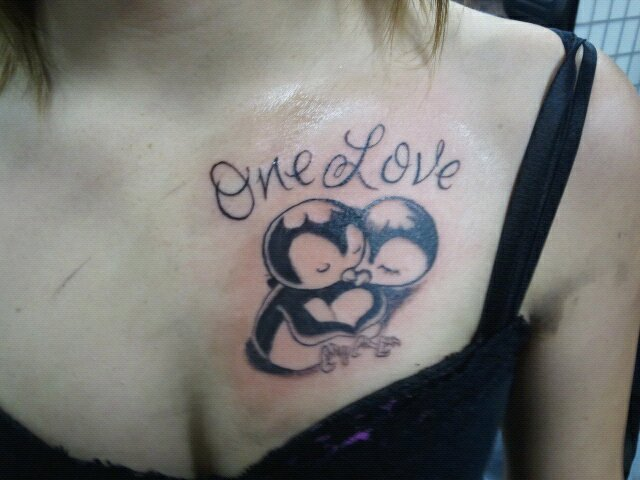 One Love - Penguin Tattoos