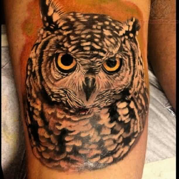 Original Owl Tattoo