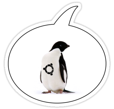 Penguin Tattoo Sticker