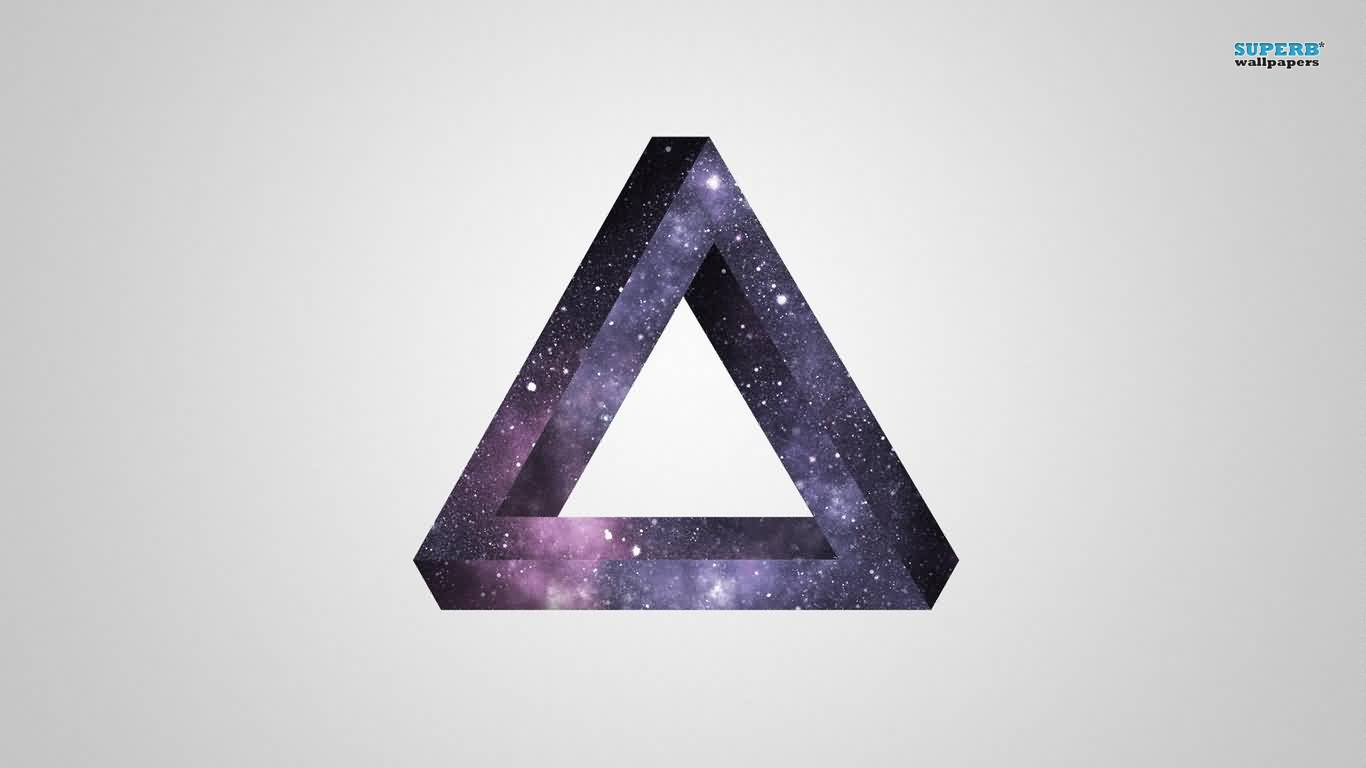 Penrose Triangle Tattoo Wallpaper