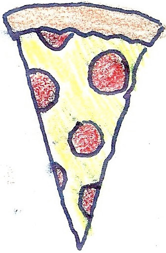 Pizza Slice Tattoo Idea