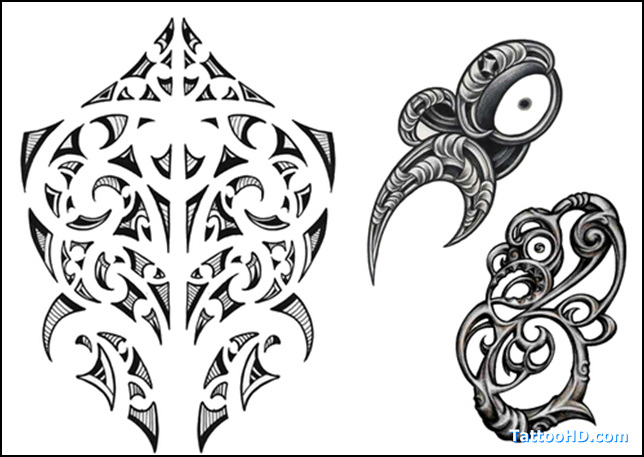 Polynesian And Tribal Tattoo Designs