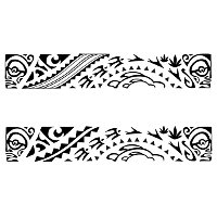Polynesian Armband Tattoo Designs