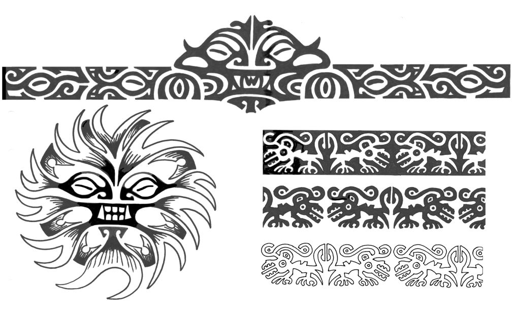 Polynesian Bands Tattoo Desgin