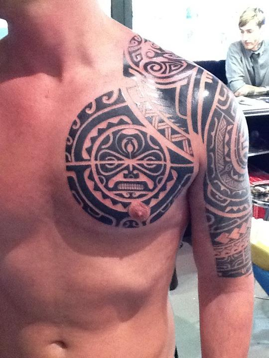 Polynesian By State Of Art Tattoo