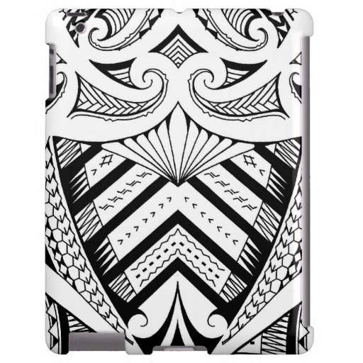 Polynesian Samoan Tattoo Design Art Pattern