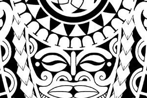 Polynesian Tattoo Flash