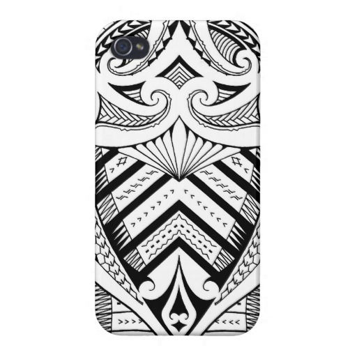 Polynesian Tattoo Iphone Case