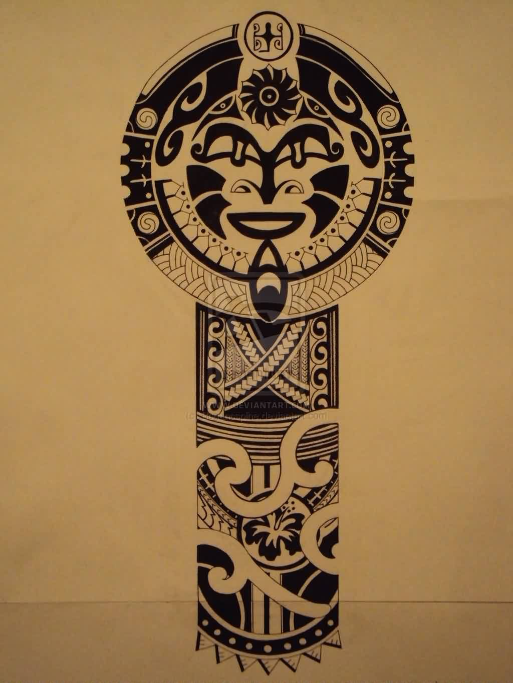 Polynesian Tattoo Pattern For Jocomella