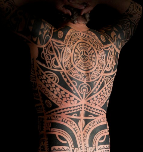 Polynesian Tattoos On Full Body