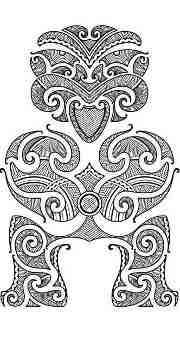 Polynesian Tiki Tattoo Designs