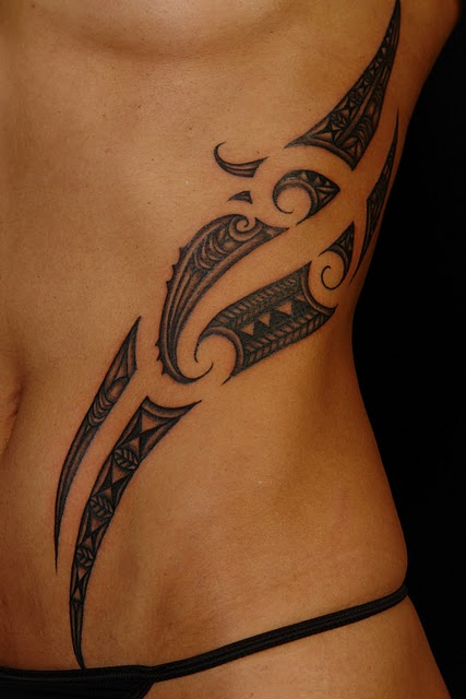 Polynesian Tribal Tattoo For Women