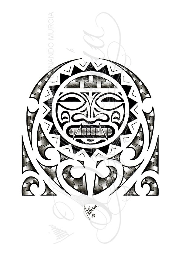 Polynesian Vs Precolumbian Tattoo Design