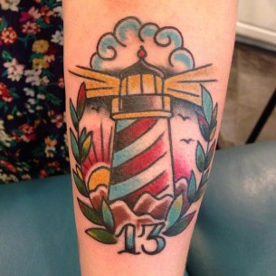 13 - Lighthouse Tattoo
