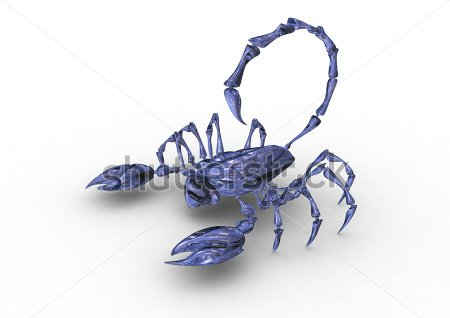 3D Scorpion Tattoo Design