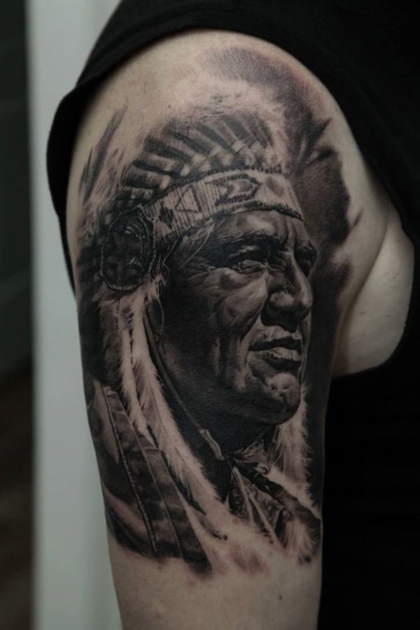 Traditional Native American Tattoos On Sleeve