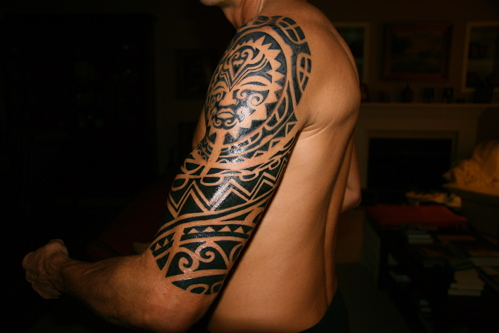 Wonderful American Tattoos On Arm For Guys