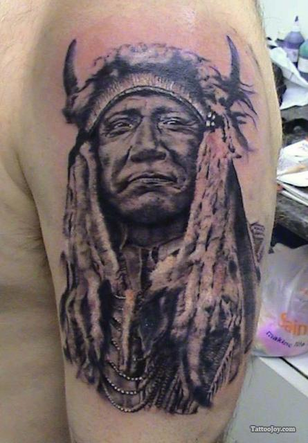 Wonderful American Tattoos On Half Sleeve