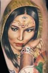 A Very Lovely Portrait Tattoo (2)