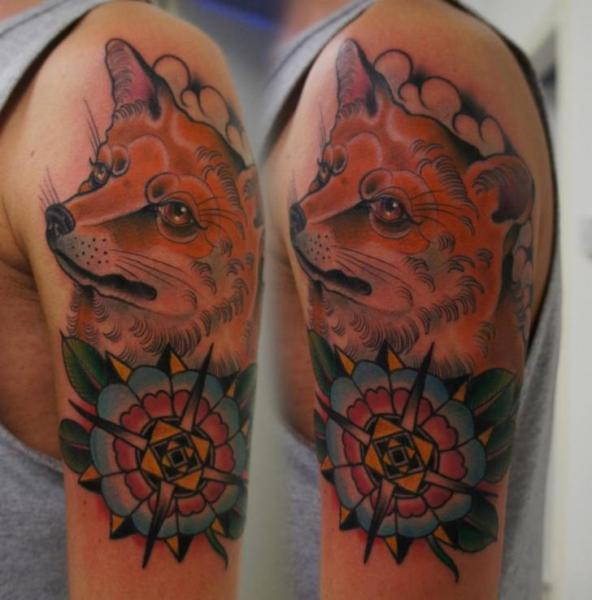 Amazing Animal And Color Mandala Tattoos